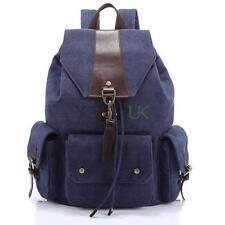 Unbranded Canvas Backpack Bags for Men with Bottle Pocket