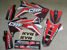 FLU TSI  TEAM GRAPHICS & BCKGR HONDA CRF250R  2010-2013 & CRF450R  2009-2012 CRF