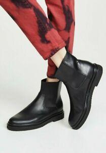 NEW Vince Litton Weatherproof Chelsea Ankle Boots, Black Size 8.5 $375