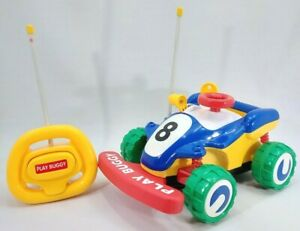 """Vintage Radio Shack PLAY BUGGY Battery Operated REMOTE CONTROL -11"""" Car"""