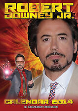 ROBERT DOWNEY JR KALENDER 2014 NEU & OVP (DREAM)
