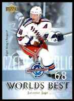 2004-05 Upper Deck World's Best Jaromir Jagr #WB9