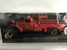 Highway 61 50185 Chevy Camión de bomberos 1/16 Mint & BOXED RARE