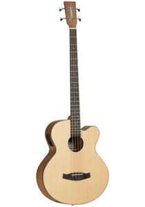 Tanglewood Discover Exotic DBT AB BW Electro Acoustic Bass Guitar
