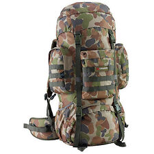 CARIBEE PLATOON 70L CAMO AUSCAM Rucksack Backpack Travel Pack Bag,
