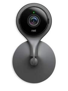 *EXCELLENT*- Google Nest Indoor Security Camera -Black- NC1102ES