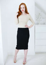 Knee-Length A-Line Dry-clean Only Regular Size Skirts for Women