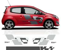 pour renault twingo rs - Kit autocollant ensemble complet graphic sport stickers