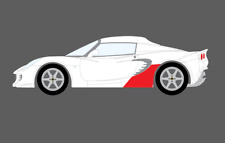 Lotus Elise S2, Sill Skirt Trim Rear CLEAR Stone Chip Paint Protection Film