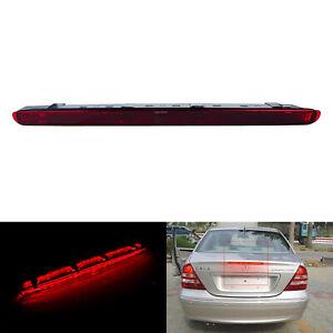 À Mercedes Benz Classe C W203 2000-2007 LED Feu arrière Troisième feu stop rouge