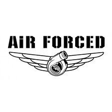 AIR FORCED // Sticker JDM Aufkleber Frontscheibe