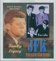 Tuvalu 2003 SG1094 The Life and Times of JFK MS MNH