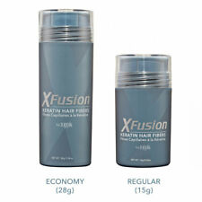 XFusion Keratin By Toppik Hair Fibers 9 Color Building/Thickening Fiber 28g/15g