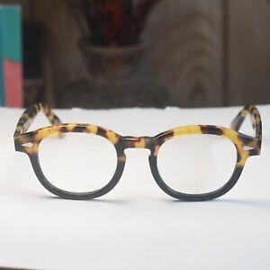 Johnny Depp eyeglasses retro tortoise black glasses frame acetate strong eyewear