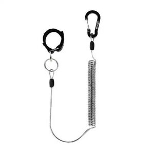 Booms Coiled Lanyard Rod Tie Belts For Fishing Rod And Net Fly Fishing Net