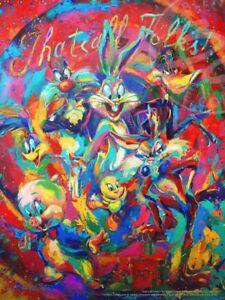 Blend Cota That's All Folks, Bugs Bunny, Warner Brothers 14 x 11 Art Prints