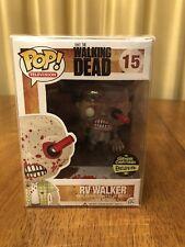 FUNKO POP Walking Dead RV Walker (BLOODY) Gemini Collectibles Exclusive 15 NEW!