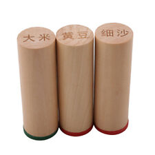 Montessori Sensorial Material Sound Cylinders Boy Girl Wooden Toy Gift LE
