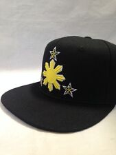 Filipino hat Philippine snapback pinoy pinay banner flag 3 stars and sun 2