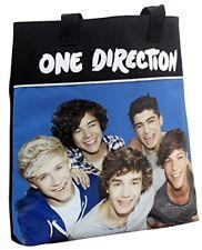 UFFICIALE 1D One Direction Medium Borsa a Tracolla Scuola Borsa A Mano Tote Bag Blu