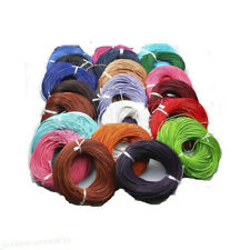 Leather Round Rope String Cord For Necklace Jewelry Finding DIY Lots 1PC/5M