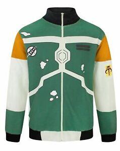 Star Wars Boba Fett Costume Men's Bomber Jacket