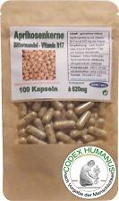 100 Kapseln 620mg Aprikosenkerne. Wildwuchs Türkei. Vitamin B17 B15 Bittermandel