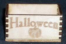 Halloween Crate 1:12 Miniature Candy Holiday Party Decorations Produce Holiday
