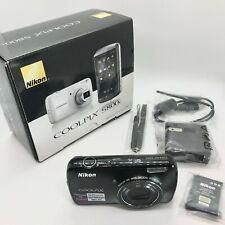 Nikon COOLPIX S800c 16.0MP Digital Camera - Black