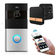 WIFI Door Bell with Camera 2 Phone Video Connection System Home Monitor Wireless