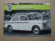 NSU Fiat Neckar Prospekt um 1959