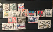 Timbres Tchecoslovaquie
