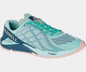 Merrell Barefoot Bare Access Flex E-Mesh Women Turquoise, Size 38 UK 5