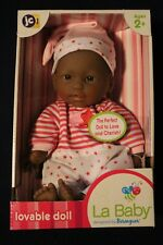 Jc Toys La Baby Lovable Doll African American - New