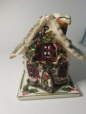 Blue Sky Clayworks Heather Goldminc Candle House Christmas Village