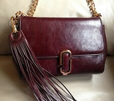 Marc by Marc Jacobs M0008242 Rubino Crossbody Bag with Gold Chain MSRP $490