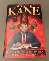 Mayor Kane Glenn Jacobs Hand Signed My Life in Wrestling and Politics WWE WWF