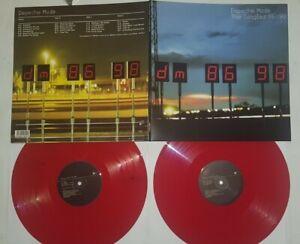 """12"""" LP Vinyl Depeche Mode - The Singles 86-98 Joy Divison The Cure Nirvana"""
