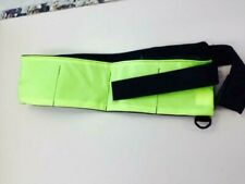 Green/Black Scuba Diving Snorkel Weight Belt. Large 8 Pocket. Made In The Usa