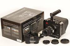 Blackmagic Cinema Camera 4K EF mit viel Zubehör und Objektiv