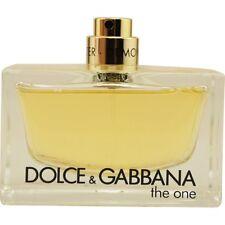 The One by Dolce & Gabbana Eau de Parfum Spray 2.5 oz Tester