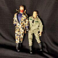 Gi Joe Action Figure Toy Lot of 2 Trooper corbra