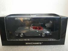 MERCEDES-BENZ 190 SL Cabriolet 1955 Grey 1/43 MINICHAMPS 430 033156