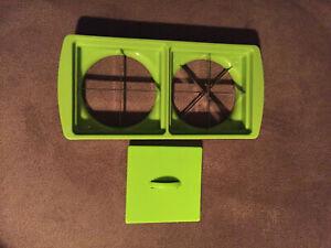 Ersatzteil für Genius Nicer Slicer Fusion Messereinsatz 18 cm apfelgrün