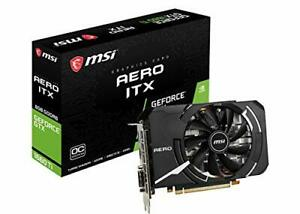 MSI GeForce GTX 1660 Ti AERO ITX 6G OC Graphics Card [Official Dom... from Japan