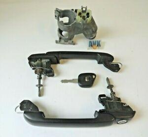 Zündschloss Schlüssel Türgriff rechts links Schloßsatz VW Golf  III