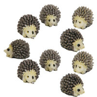 10pcs Miniature Bonsai Fairy Micro Garden Landscape Hedgehog Craft DIY Decor