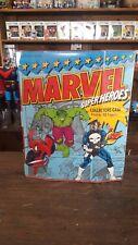 Marvel Superheroes Collector's Case Toybiz 1991 Rare Great Shape Action Figure