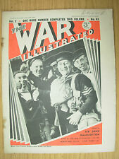 WAR ILLUSTRATED MAG No 43 JUNE 28th 1940 BRITISH SAILORS BACK FROM FRENCH WATERS