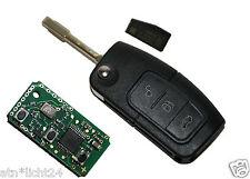 Klappschlüssel  Autoschlüssel Fernbedienung 433Mhz Ford Focus Galaxy Kuga 4D-63
